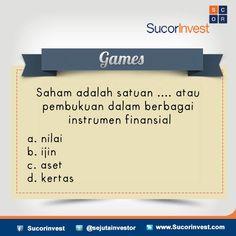 #Games #Investasi #sucorinvest