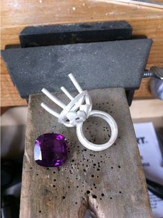Making a halo cocktail ring