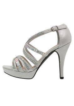 STAR - Korolliset sandaalit - silver