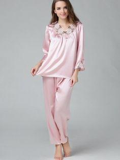 Pure Silk Pajamas Set