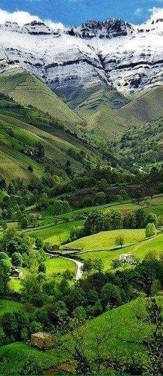 Cantabria en España: