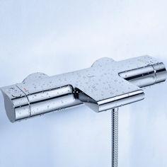 Grohe Grohtherm 2000 new Badthermostaat 15 cm. met koppelingen Chroom 34174001 Productafbeelding