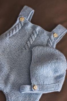 New Knitting Patterns Toddler Sweater Boys Ideas Baby Boy Knitting Patterns, Knitting For Kids, Baby Patterns, Knit Patterns, Knitted Baby Clothes, Knitted Romper, Baby Romper Pattern, Pull Bebe, Toddler Sweater