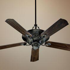 52 quorum jubilee satin nickel ceiling fan ceiling fan 56 quorum salon oiled bronze ceiling fan aloadofball Image collections