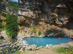 A pool in Benja, Albania