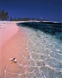 beach-on-half-moon-cayman Island <3