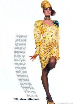 Vogue US June 1985 photographer: Bill King