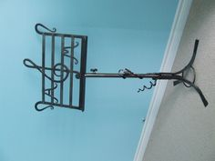 Hand Forged Music Stand by Metcalfe Iron Works