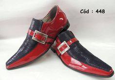 Vermelho com textura preto - ITA Comfort Best Shoes For Men, Formal Shoes For Men, Shoes Men, Men's Shoes, Shoe Boots, Kids Dress Shoes, African Dresses Men, Leopard Shoes, Cool Kids