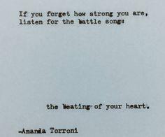 Amanda Torroni | Quote