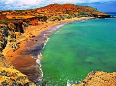 Northern Colombia - El Cabo de la Vela, La Guajira. Shades and hues of the…