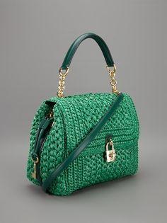 Dolce & Gabbana Woven Raffia Tote - - Farfetch.com.br