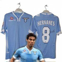 #perlamaglia campaign S.S. Lazio 2013-14 original macron jersey Hernanes #8 with own signed autograph