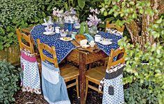 Manhã, tarde ou noite, toda hora é hora de ter uma mesa bonita
