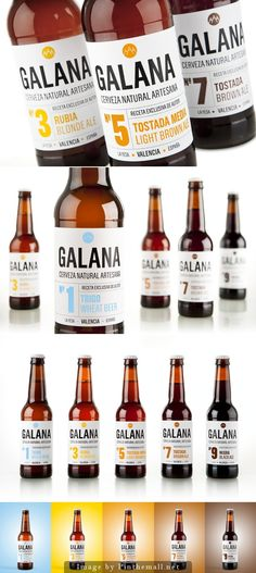 Galana Craft Beer #label #design | by Estudio Modesto