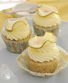 Cupcakes de maçã verde!
