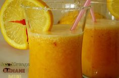 Jus orange banane (100% vitamine)