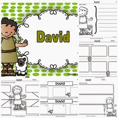 David David D, Church Crafts, Bible For Kids, Bible Stories, Sunday School, Religion, Projects To Try, Prayers, Faith