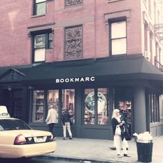 BookMarc Store in West Village. I have been here. It is a little gaudy and very fabulous.