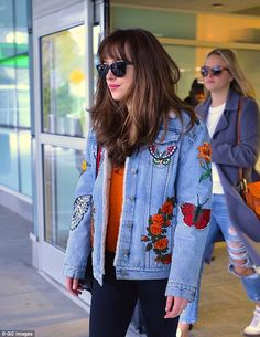 Pricey: It may look like a casual item, but the jacket alone costs $4,400 new...