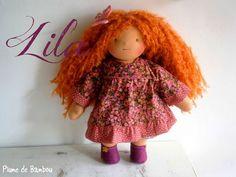 Waldorf doll - Poupée waldorf - Lila