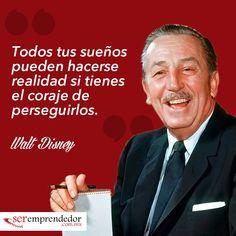 Frases Motivacionales de Walt Disney