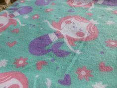 Little Mermaid Baby Blanket by nicoledesigns on Etsy, $7.00