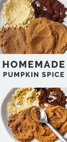 All you need is four ingredients for this homemade pumpkin pie spice blend. Perfect for having on hand for all of your fall and holiday baking needs.
