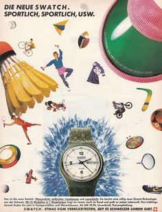 Old Swatch Ads from the 80s!