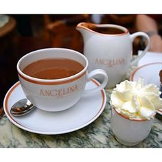 The hot chocolate from Angelina | 27 Of The Most Delicious Cheap Eats In Paris