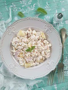 Hawaii, Coconut Flakes, Pasta Salad, Potato Salad, Oatmeal, Salads, Spices, Food And Drink, Baking