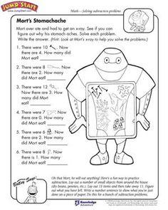 math worksheet : a great big bite  free math worksheet for kids  *♣* smart kids  : Smart Kids Math Worksheets
