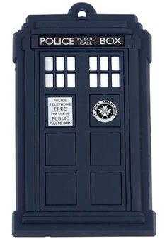 Tardis - Koelkastmagneet van Doctor Who