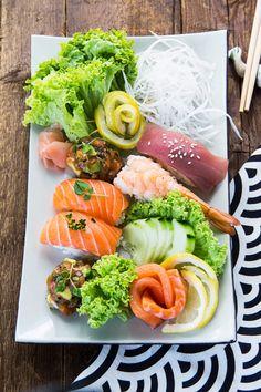 We love sushi!
