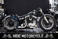 Night Sky Bobber by Hide Mo. Something about simple lines of this bike that keeps continuing on and on and on.