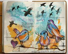 http://layersofink.blogspot.com/2014/06/bold-birds-art-journal-tutorial.html