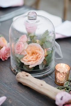 Featured Photographer: Brian Hatton Photography; wedding centerpiece idea, click to see more