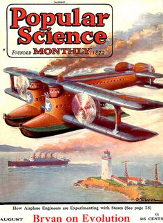 1923 ... steam powered plane!   Flickr - Photo Sharing!