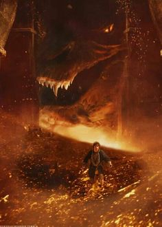 The Desolation of Smaug -- the most amazing dragon ever to be shown on screen.