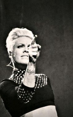 P!nk - she is her own brand - my inspiration!