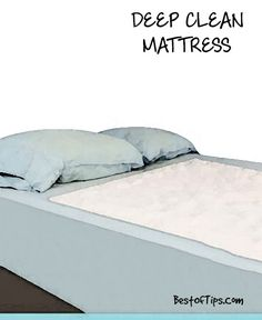 Procedure to clean the mattress: