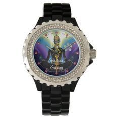 yoga asanas / poses sanskrit word art wristwatch  zazzle