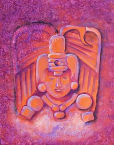 Original painting of ancient Harvest Mayan God by MyMexicanArt, $99.00