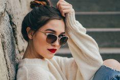 Vogue, Cat Eye Sunglasses, Eyes, Fashion, Model, Moda, Fashion Styles, Fashion Illustrations, Bud