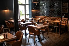 We helped and delivered new design and furniture to Cafe K in Randers, Aarhus and Silkeborg - Denmark