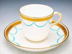 Minton cup & saucer, c. 1880.