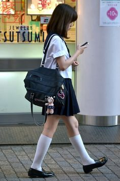 japanese school girl