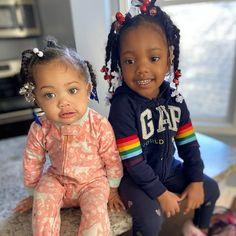 Cute Black Babies, Black Baby Girls, Adorable Babies, Cute Little Girls, Cute Kids, Baby Family, Family Kids, Mother Daughter Fashion, Pregnancy Goals