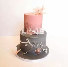 Love the LOVE YOU cake (=)