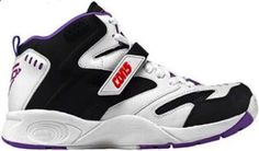 Kevin Johnson shoes! Still got this one when playing on the court.